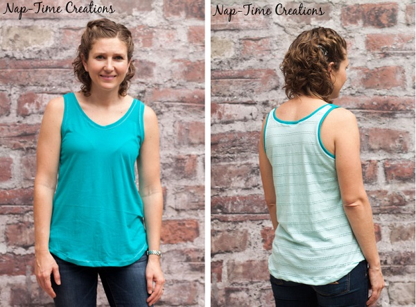 Free pattern: Women's simple summer tank