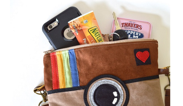 Free pattern: Instagram-inspired bag