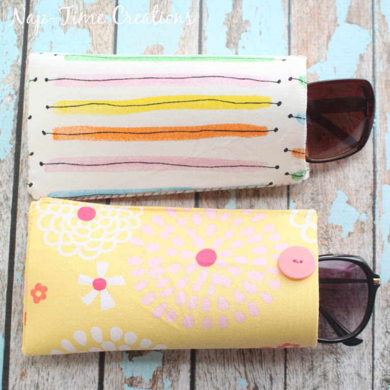 Tutorial: Easy sunglasses case