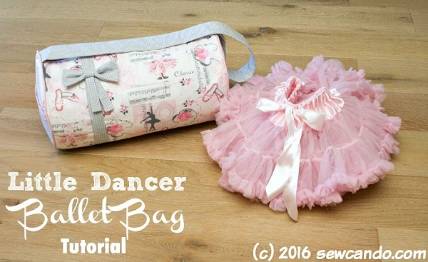 Tutorial: Little Dancer Ballet Bag