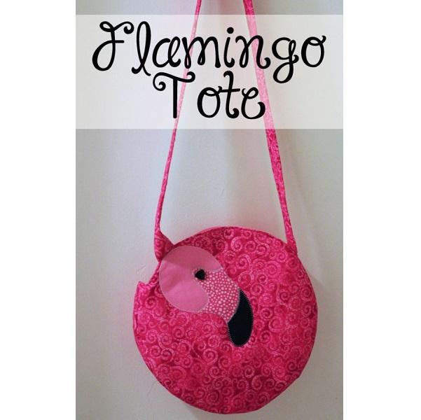 Free pattern: Flamingo tote