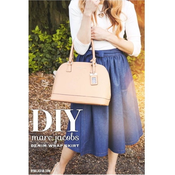 299890b6fd0 Tutorial  DIY designer inspired denim wrap skirt – Sewing