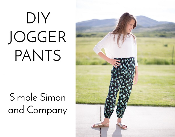 Tutorial: Sew jogger pants from a pajama pants pattern