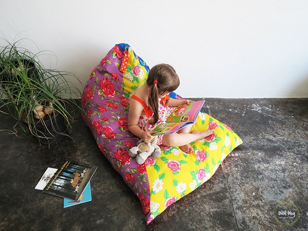 Tutorial: Make this floor cushion in just 1 hour