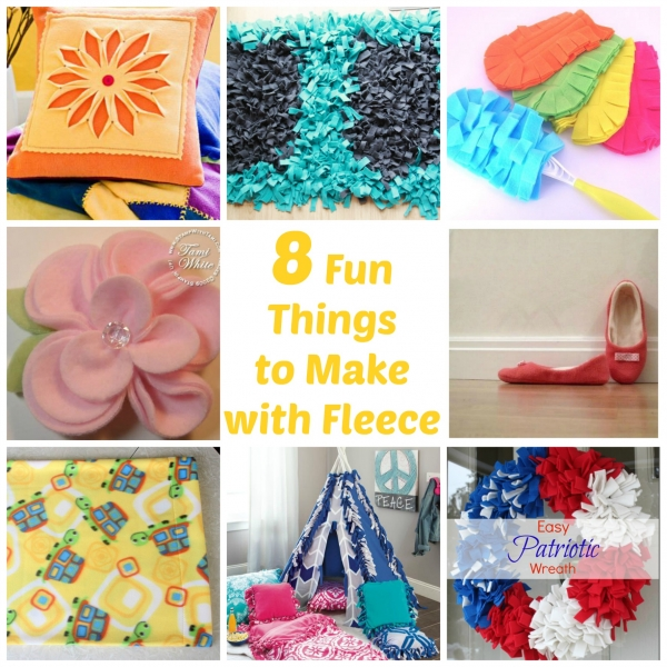 8 Fun Things to Make with Fleece