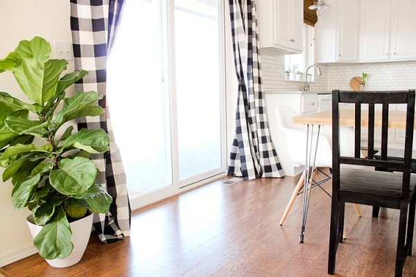 Tutorial: Easy way to make floor length drapes