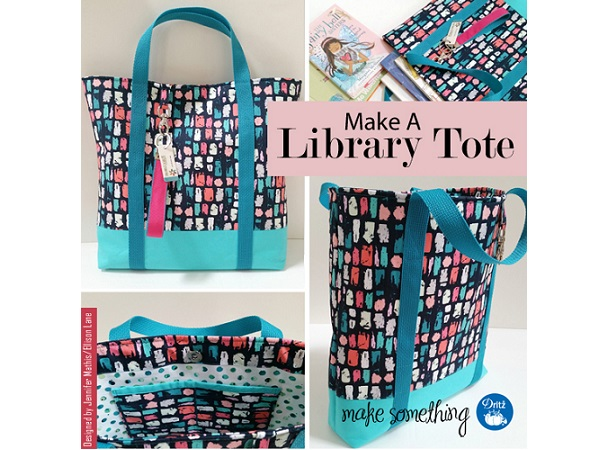 Tutorial: Library book tote