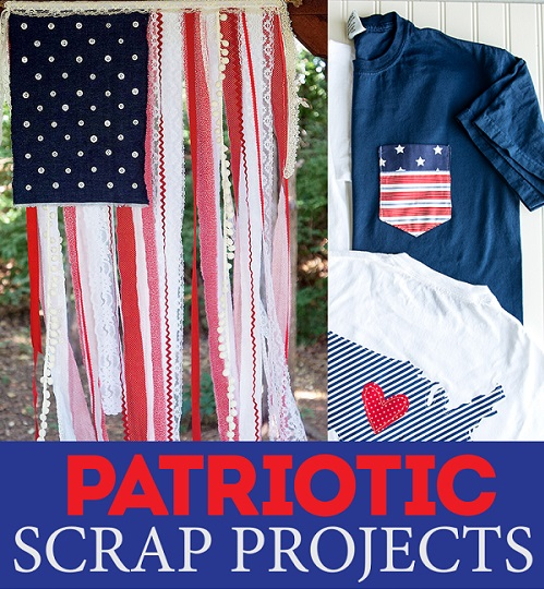 10 scrapbusting patriotic sewing projects