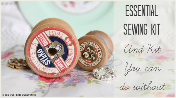 Sewing kit essentials, and the items you can do without