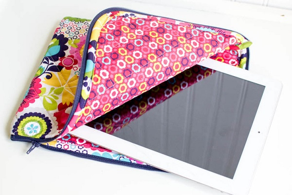 Tutorial: Quilted iPad case