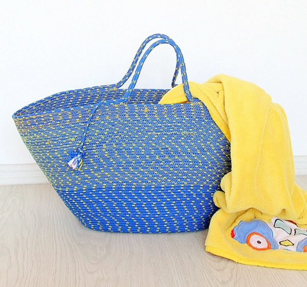 Tutorial: Sew an awesome rope tote