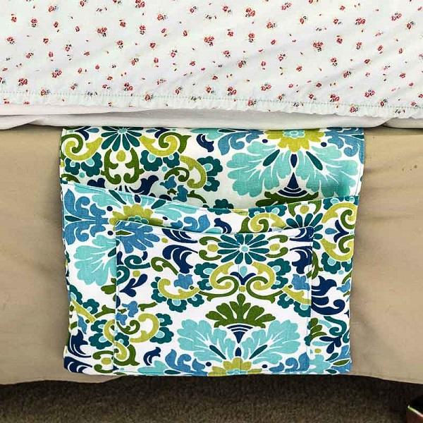 Tutorial: Bed pocket caddy