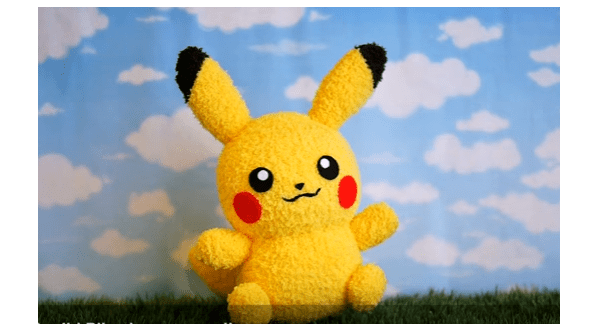 Video tutorial: Pikachu sock plushie