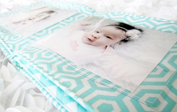 Tutorial Soft Fabric Photo Book For Baby Sewing