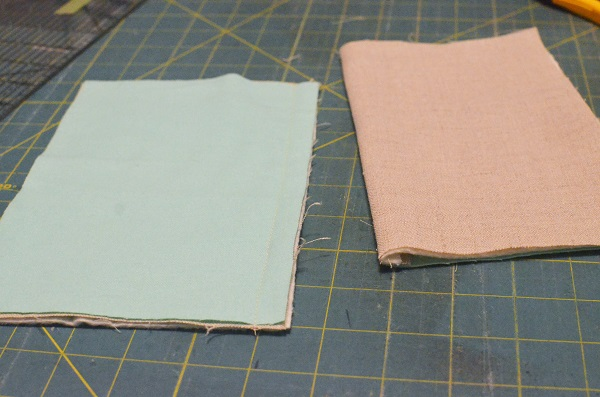 Tutorial: Linen and flannel pot holder
