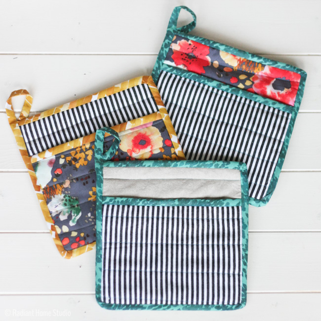 Tutorial: Simple quilted potholder