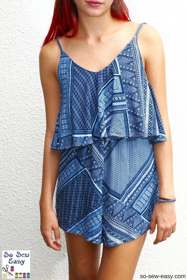 Free pattern: Salina romper