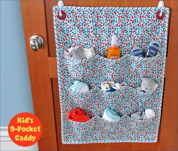 Tutorial: Nine pocket door caddy organizer