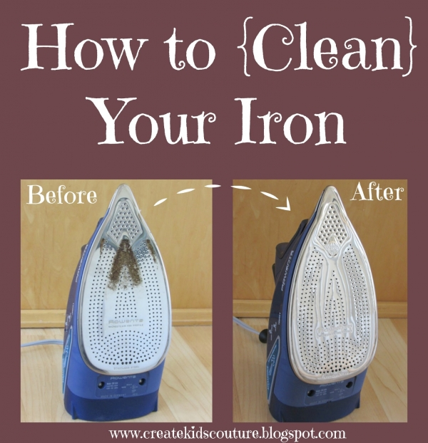 Tutorial: Clean the gunk off your iron