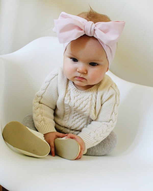 Tutorial Oversized Bow Headband For Baby Sewing