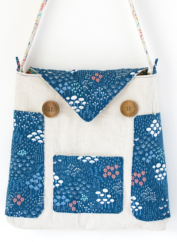Free Pattern Owl Tote Bag Sewing