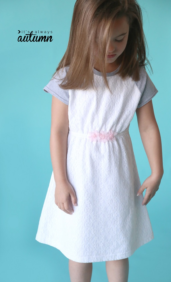 Free pattern: Play All Day dress with raglan sleeves