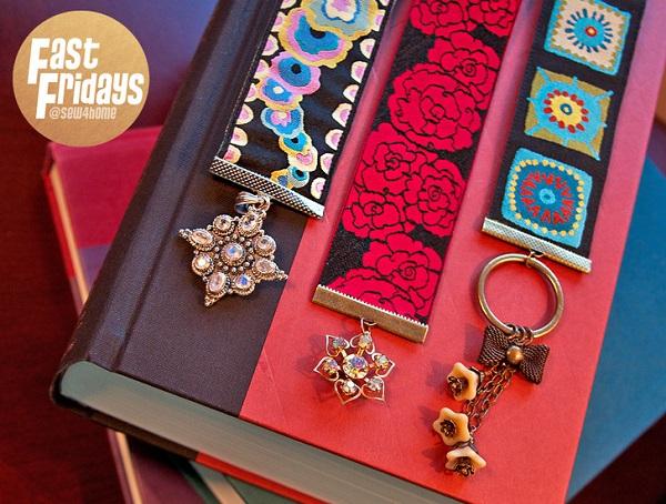 Tutorial: Giftable scrap ribbon bookmarks