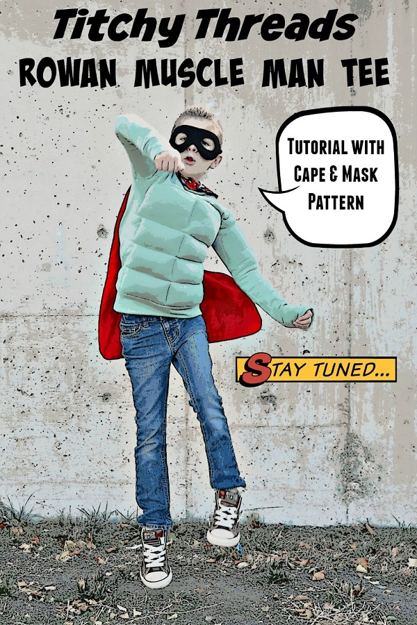 Tutorial: Superhero costume with muscle shirt