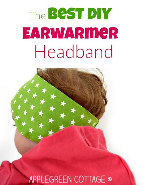 Free Pattern Fleece Earwarmer Headband For Baby Sewing