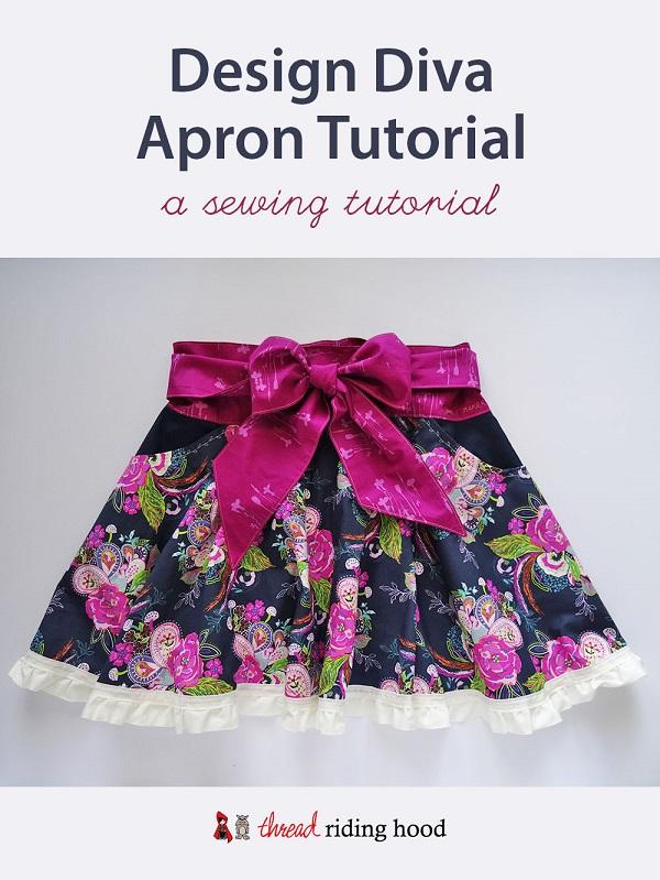 Tutorial: Design Diva circle skirt apron