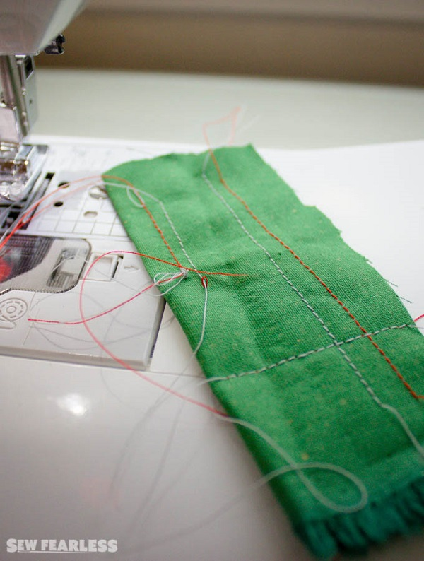 Things to check before adjusting your sewing machine tension