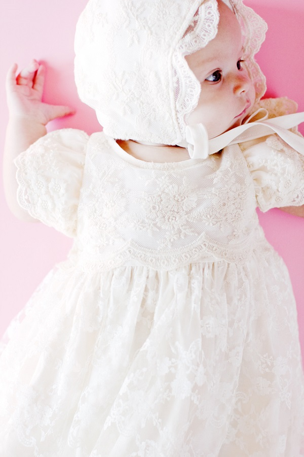Free pattern: Baby blessing dress