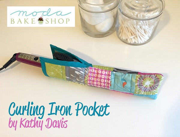 Tutorial: Travel curling iron pocket