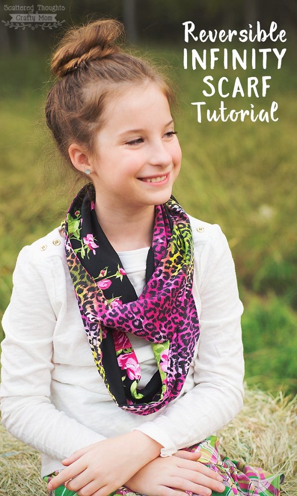 Tutorial: Reversible infinity scarf