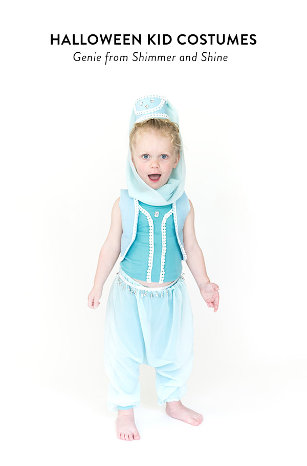 Tutorial Last minute genie costume for a little girl  sc 1 st  Sewing @ CraftGossip : baby genie costume  - Germanpascual.Com