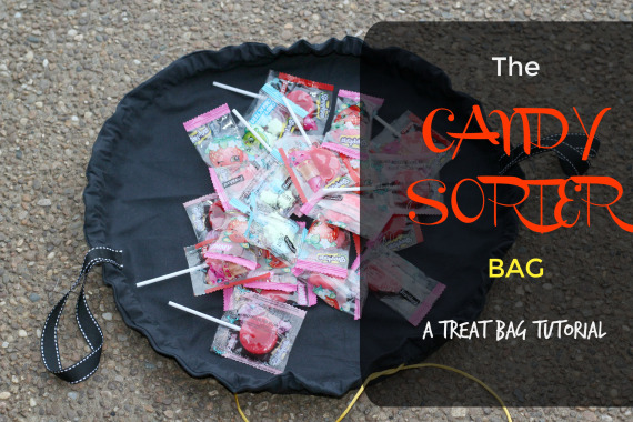 Tutorial: Candy sorter trick or treat bag