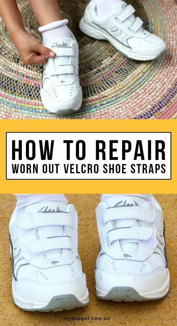 Tutorial: Replace Worn Out Velcro Shoe Straps