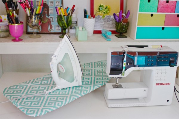Tutorial: Recover your tabletop ironing board