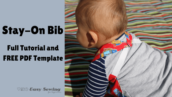 Free pattern: Stay put baby bib