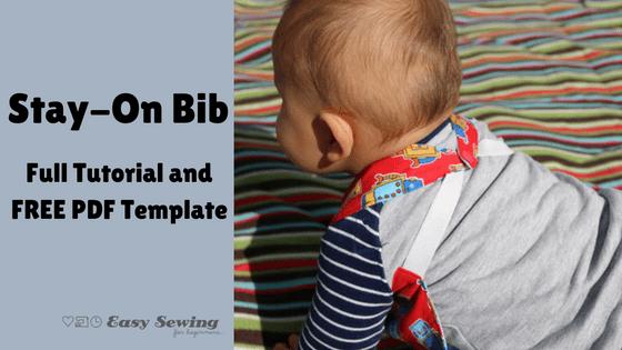 Free pattern: Stay put baby bib