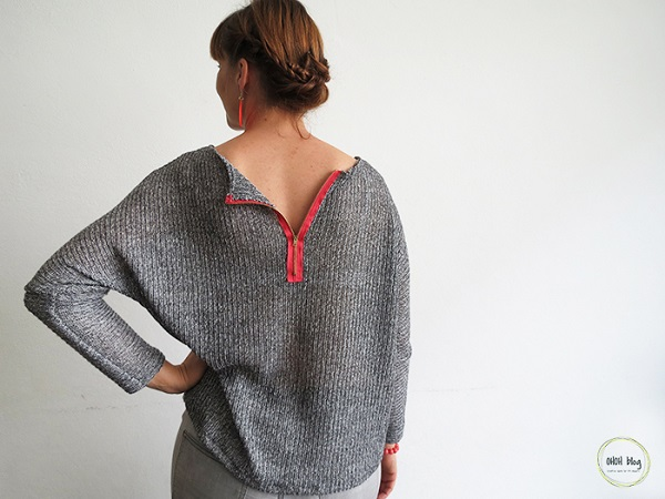 Tutorial: Sew a sweater from sweater knit fabric