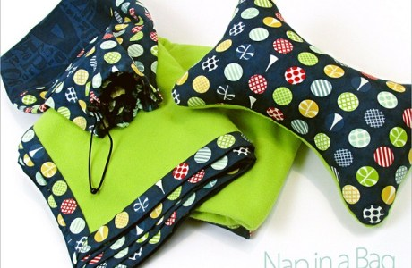 Tutorial: Nap in a Bag blanket and pillow set
