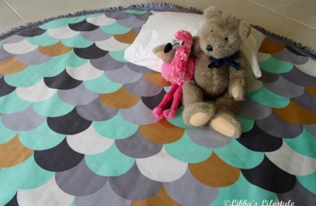 Tutorial: Easy padded baby play mat