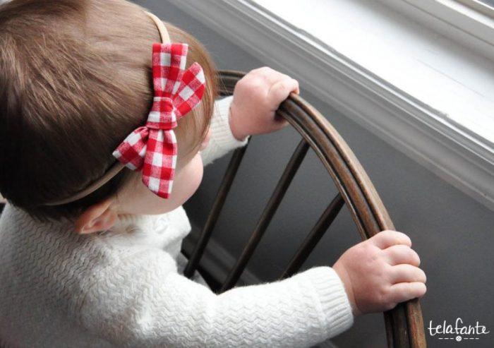 Tutorial: Easy baby hair bow headbands