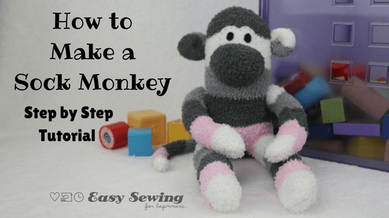 Video tutorial: Sock monkey softie
