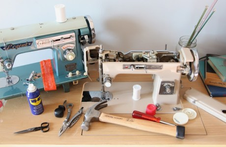 Tutorial: Restore a vintage sewing machine