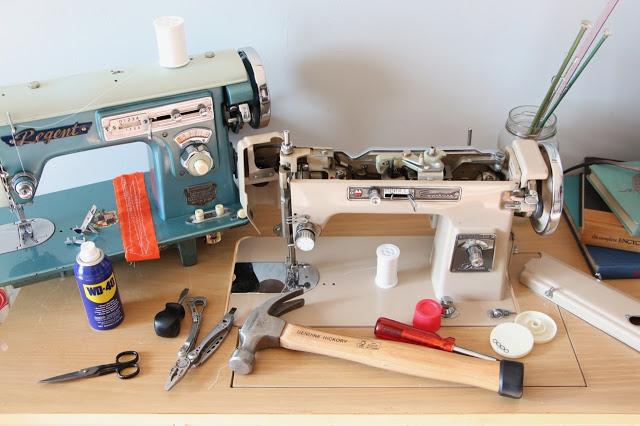 Tutorial: Restore a vintage sewing machine