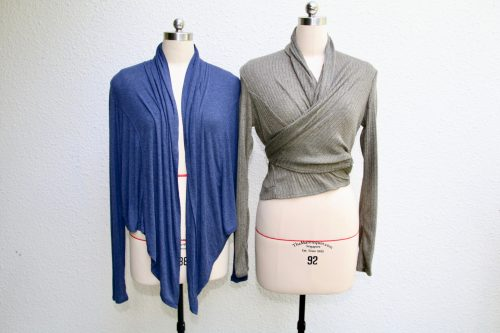 Free pattern: Wrap cardigan you can wear many ways
