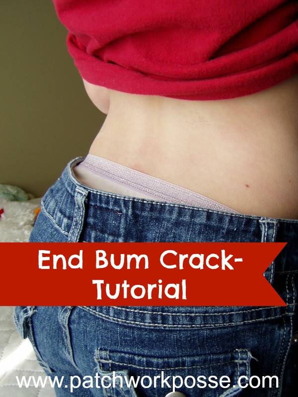 Tutorial: Fix for a gaping waistband