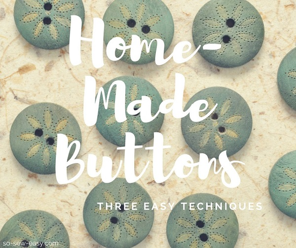 Tutorial: 3 ways to make your own buttons
